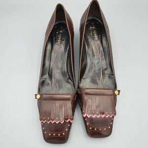 Kate Spade Vintage Fringe Loafers